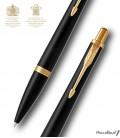 Długopis Parker Royal Urban Czarny Mat GT