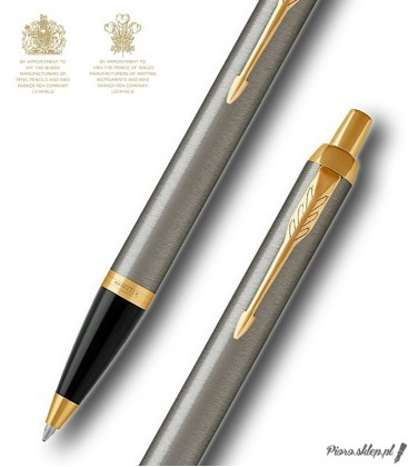 Długopis Parker Royal IM Brushed Metal GT