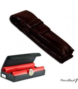 Etui na pióro / długopis ze skóry naturnalnej - brązowe 062