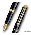 Zestaw Waterman Hemisphere Czerń GT - pióro wieczne, długopis, etui