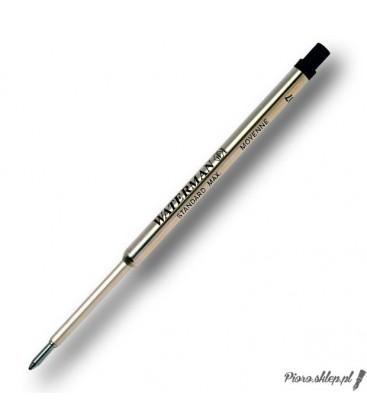 Wkład do długopisu Waterman - czarny F