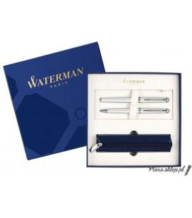Zestaw Waterman Hemisphere Biel CT - pióro wieczne, długopis, etui