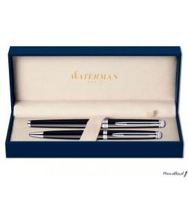 Zestaw piśmienny Waterman Hemisphere Czerń CT - pióro wieczne, długopis