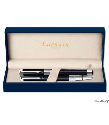 Zestaw piśmienny Waterman Perspective Czerń CT - pióro wieczne, długopis