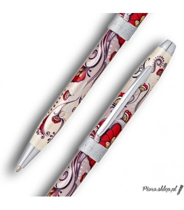 Długopis Cross Botanica Czerwony Koliber