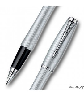 Pióro wieczne Parker Urban Premium Vacumatic Silver Blue Pearl CT