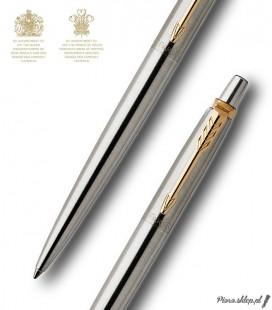 Długopis Parker Jotter Royal Stalowy GT
